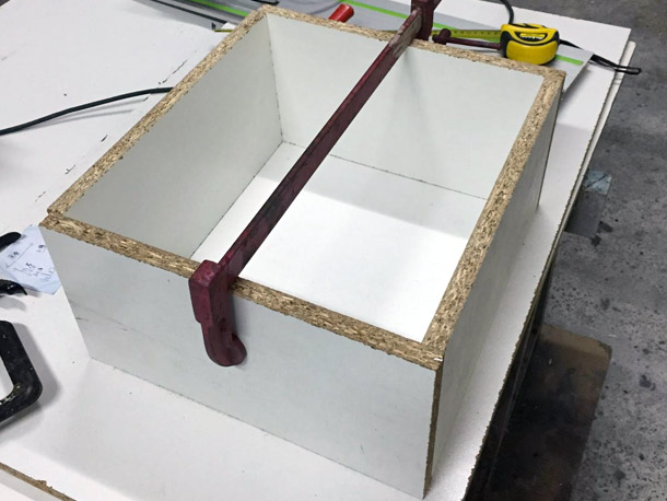 fabrication d u0026 39 une caisse en polyester avec un moule perdu