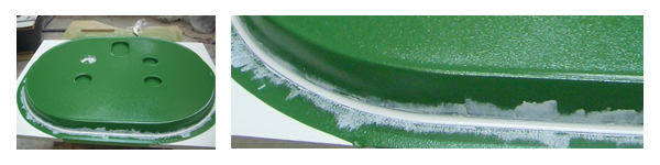 Modèle gelcoate vinylester
